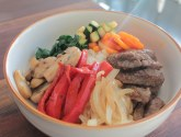 Bibimbap 비빔밥 Mixed Rice with Vegetables and Meet