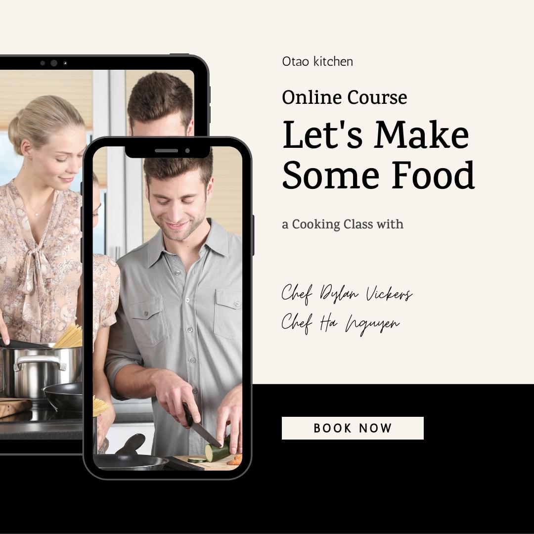 Online cooking classes Otao kitchen